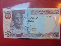 NIGERIA 100 NAIRA 2001 CIRCULER - Nigeria