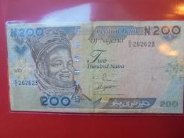 NIGERIA 200 NAIRA 2001 CIRCULER - Nigeria