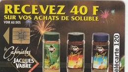TELECARTE 120..  JACQUES VABRE...LES CAFERIALES - France