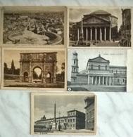 5 CART. ROMA  (343) - Cartoline