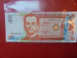 PHILIPPINES 20 PISO 2004 CIRCULER - Philippinen