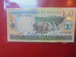 RWANDA 100 FRANCS 2003 CIRCULER - Rwanda