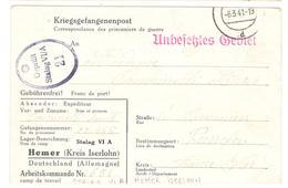 17259 - STALAG  VI A HEMER - Poststempel (Briefe)