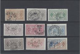 Svezia ,francobolli Di Servizio Con Dentellatura 13 ,splendidi - Servizio