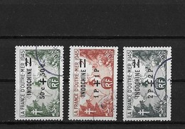 Indochine Yv. 296-298 O. - Used Stamps