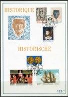 (B) Historische Uitgifte 1677/1682 FDC - 1973 - Cartes Souvenir