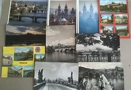 10 CART.  PRAGA   (356) - Cartoline
