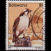 BOTSWANA 1982 - Scott# 310 Falcon 8t Used - Botswana (1966-...)