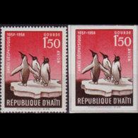 HAITI 1958 - Scott# C120-A Penguins 1.5g MNH - Haiti