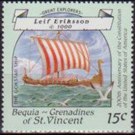ST.VINCENT-BEQUIA 1988 - Scott# 251 Navigator 15c MNH - St.Vincent & Grenadines