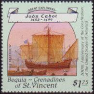 ST.VINCENT-BEQUIA 1988 - Scott# 253 Navigator $1.75 MNH - St.Vincent & Grenadines
