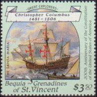 ST.VINCENT-BEQUIA 1988 - Scott# 257 Navigator $3.5 MNH - St.Vincent & Grenadines