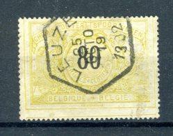 (B) TR24 Gestempeld 1895 - Met Tweetalige Tekst - Railway