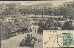 62-1280 Germany Deutschland Gruss Aus Berlin Dönhoff Platz 1902 Sent To Finland - Andere