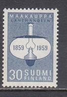 Finland 1959 - Centenaire Du Libre Rural, Mi-Nr. 514, MNH** - Neufs