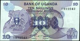 UGANDA - 10 Shillings Nd.(1982) UNC P.16 - Uganda