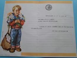 TELEGRAM Voor Atilio PASSIN Hotel Carlton Sint Niklaas > V/d Fam. Sorgeloos (R.T.T) Stamp 1970 SINT NIKLAAS ! - Announcements
