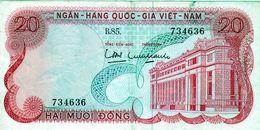 Billet Du Vietnam 20 Dông De 1969 En T T B+ - - Vietnam
