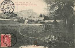 Asie - Viêt-Nam  :   Annam  Than-Hoa Pont à L' Entrée Du Village Cua-Nhap  Réf 6395 - Viêt-Nam