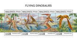 MALDIVES 2018 - Pterosaurs - Mi 7943-6 - Prehistorisch