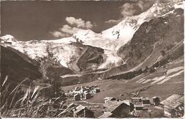 SAAS-FEE (Valais-VS) Allalin - Alphubel - Täschhorn - Dom En 1954  CPSM  PF - VS Valais