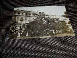 France ( 102 )  Frankrijk  :  Fotokaart  Carte Photo   Nice : Riviera Palace - Pubs, Hotels And Restaurants
