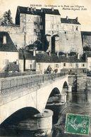 70 - Pesmes - Le Chateau Et Le Pont Sur L'Ognon - Pesmes