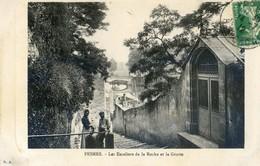 70 - Pesmes - Escaliers De La Roche Et La Grotte - Pesmes