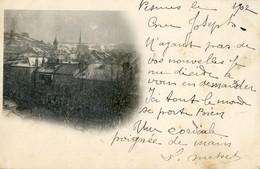 70 - Pesmes - Vue Générale Avec Fine Couche De Neige - Pesmes