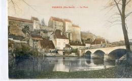70 - Pesmes - Le Pont - Carte Colorisée - Pesmes