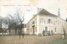 70 - Pesmes - Hotel De L'Aigle D'or - Carte Colorisée - Pesmes