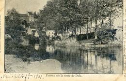 70 - Pesmes - Sur La Route De Dôle - 2 Scan - Pesmes