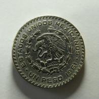 Mexico 1 Peso 1961 Silver - Mexico