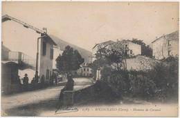 CORSE CPA  BOCOGNANO - Hameau De Corsacci - Animée - Ajaccio