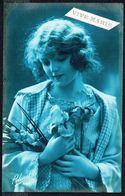 FEMME - CP - Jeune Femme Avec Fleurs - Circulé - Circulated - Gelaufen - 1923. - Femmes