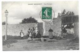 78/ YVELINES...SAINT BENOIST: La Pompe - France