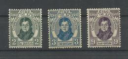 IRLANDA YVERT 55/57  MH  * - 1922-37 Estado Libre Irlandés