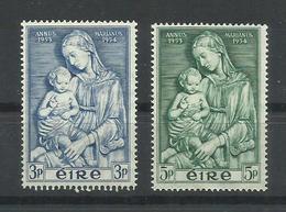 IRLANDA YVERT  122/23  MH  * - 1949-... República Irlandése