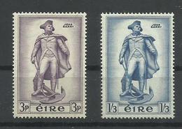 IRLANDA YVERT  126/27   MH  * - 1949-... República Irlandése