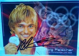 Ludwig Paischer (Austria  Judo)- - Autógrafos