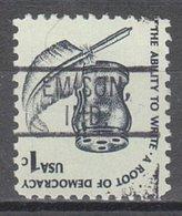 Locals USA Precancel Vorausentwertung Preo, Locals Indiana, Emison 802 - United States