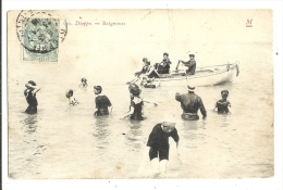 Cp, 76, Dieppe, Baigneuses, Voyagée - Dieppe