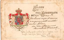 Hilsen Fra Kobenhavn Copenhagen DANMARK - Danemark