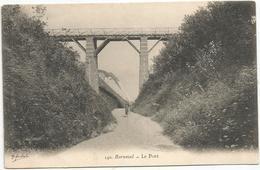 Cp , 76 , BERNEVAL , Le Pont , Vierge - Berneval