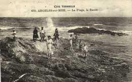 Cote Vermeille ARGELES Sur MER  La Plage ,le Racou Promeneurs RV Ambuulant Perpignan à Cerbère - Argeles Sur Mer
