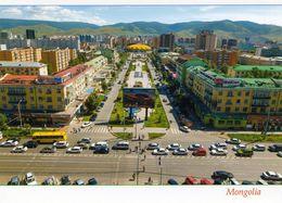 1 AK Mongolei * Ulaanbaatar (oder Ulan Bator) Hauptstadt Der Mongolei - Luftbildaufnahme * - Mongolei