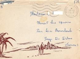 Lettre Illustrée- A.F.N- - Marcophilie (Lettres)
