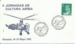 ESPAÑA , SOBRE CONMEMORATIVO II JORNADAS DE CULTURA AEREA - 1931-Hoy: 2ª República - ... Juan Carlos I