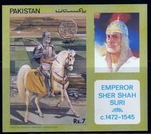 Pakistan 1991 Emperor Sher Shah Suri   Bloc  N° BL8   MNH  Neuf - Pakistan