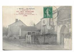 """21 - MELIN ( Auxey-Duresses ? ) - Rue Principale - Collection """" Aux Deux Orphelines à Lyon """" - France"""